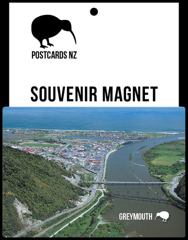 MWE260 - Greymouth - Magnet - Postcards NZ Ltd