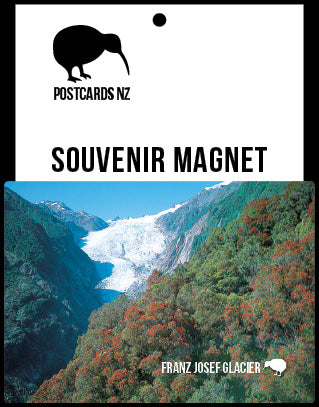 MWE261 - Franz Josef - Magnet - Postcards NZ Ltd