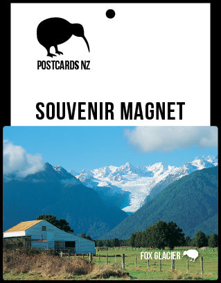MWE262 - Fox Glacier - Magnet - Postcards NZ Ltd