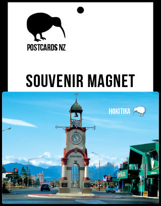 MWE264 - Hokitika Clock Tower - Magnet - Postcards NZ Ltd