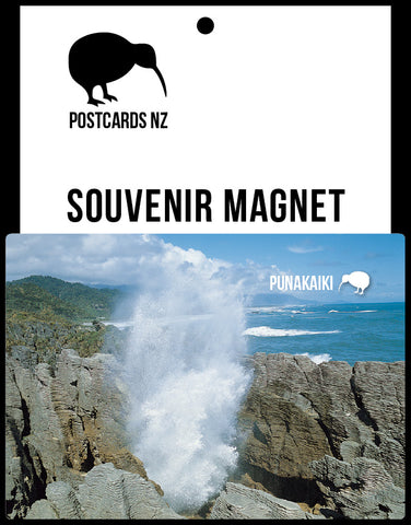 MWE275 - Pancake Rocks, Punakaiki - Magnet - Postcards NZ Ltd