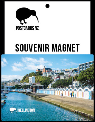 MWG247 - Oriental Bay, Wellington - Magnet - Postcards NZ Ltd