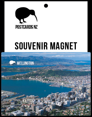 MWG248 - Wellington - Magnet - Postcards NZ Ltd