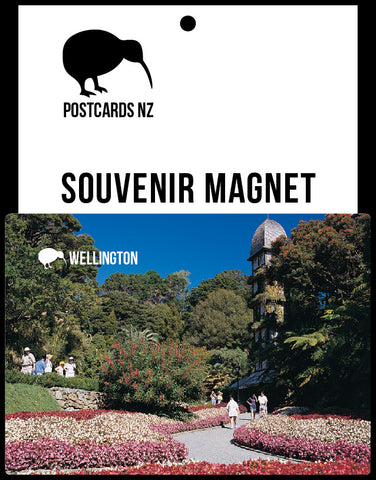 MWG255 - Botanic Gardens Wellington - Magnet - Postcards NZ Ltd