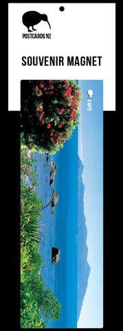 MPWG260 - Kapiti Coast - Panoramic Magnet - Postcards NZ Ltd