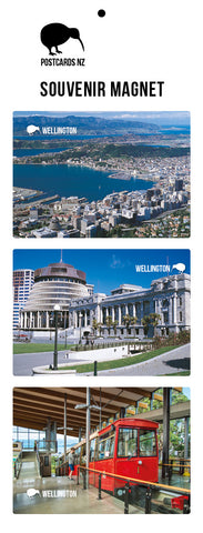 MWL5911 - Wellington Magnet Set - Postcards NZ Ltd