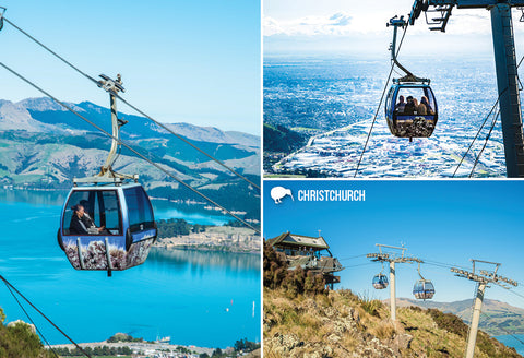 SCA332 - Christchurch Gondola - Small Postcard - Postcards NZ Ltd