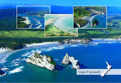 SNE754 - Archway Islands Multi - Small Postcard