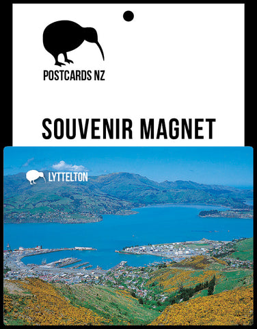MCA042 - Lyttelton - Magnet - Postcards NZ Ltd