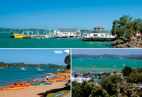 SBI188 - Paihia - Small Postcard - Postcards NZ Ltd