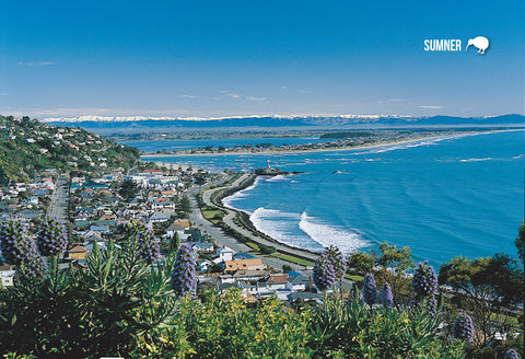 SCA272 - Sumner, Christchurch - Small Postcard - Postcards NZ Ltd