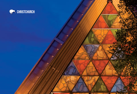 SCA292 - Cardboard Cathedral, Christchurch - Small Postcard