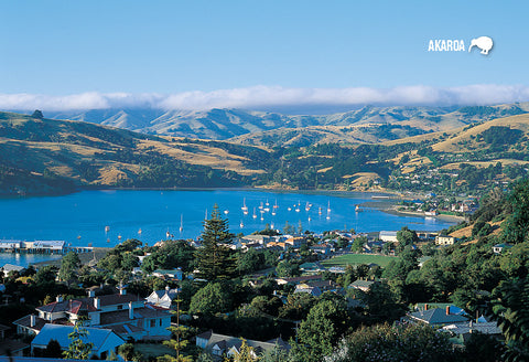 SCA305 - Akaroa - Small Postcard