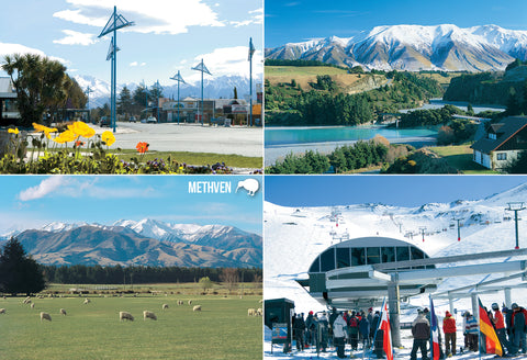 SCA320 - Methven Multi - Small Postcard