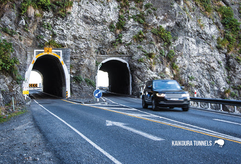 SCA630 - Coast, Road Tunnels - Small Postcard