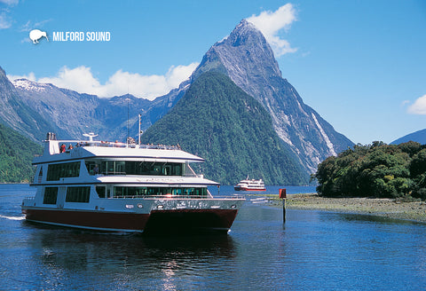 SFI49 - Milford Sound - Small Postcard