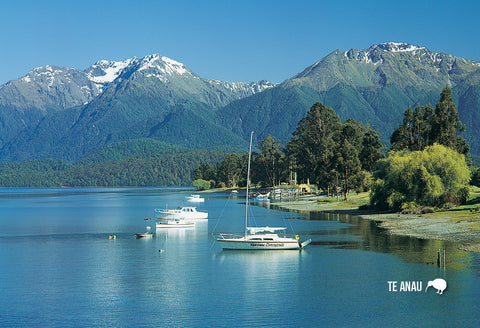 SFI46 - Lake Te Anau - Small Postcard