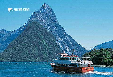 SFI49 - Milford Sound - Small Postcard - Postcards NZ Ltd
