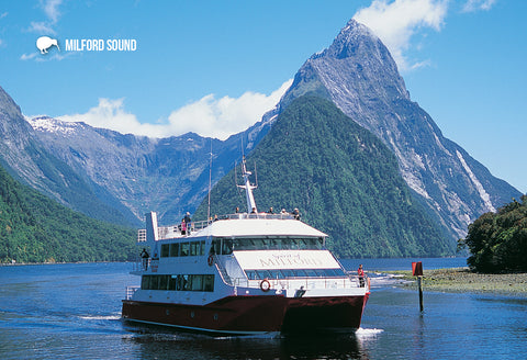 SFI72 - Milford Sound - Spirit Of Milford - Small Postcard