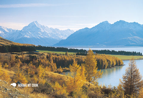 SMC354 - Mt Cook - Small Postcard