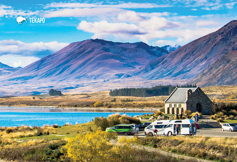 SMC362 - Church Of Good Shepherd, Lake Tekapo - Small Postc - Postcards NZ Ltd
