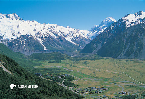 SMC366 - Mt Cook - Small Postcard