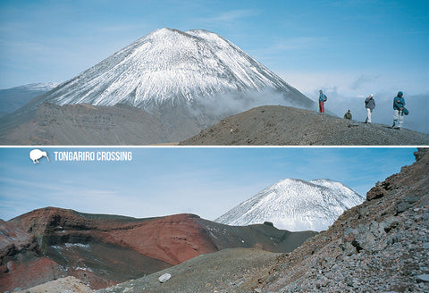 SMW925 - Tongariro Crossing - Small Postcard