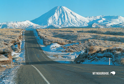 SMW931 - Mt Ngauruhoe From Desert Rd - Small Postcard