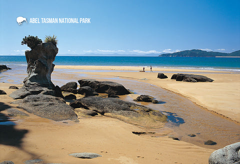 SNE733 - Totaranui Beach - Small Postcard
