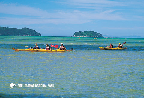 SNE745 - Abel Tasman National Park - Small Postcard - Postcards NZ Ltd