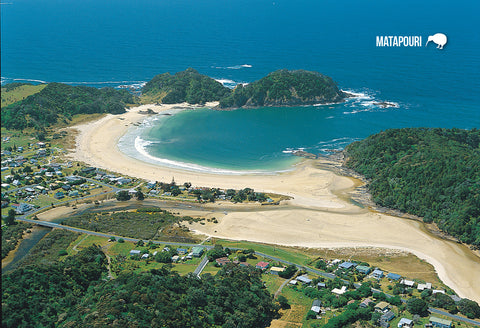 SNO683 - Matapouri, Tutukaka Coast, Whangarei - Small Postc - Postcards NZ Ltd