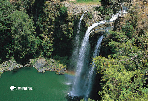 SNO706 - Whangarei Falls, Northland - Small Postcard - Postcards NZ Ltd