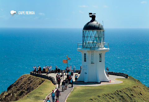 SNO781 - Lighthouse, Cape Reinga - Small Postcard - Postcards NZ Ltd