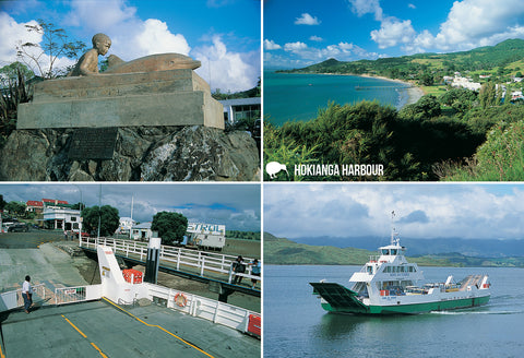 SNO802 - Hokianga Harbour - Small Postcard - Postcards NZ Ltd