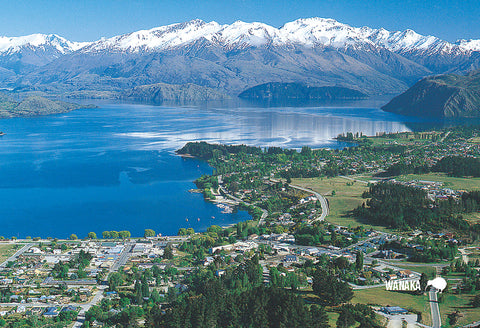 SOT398 - Air Wanaka - Small Postcard