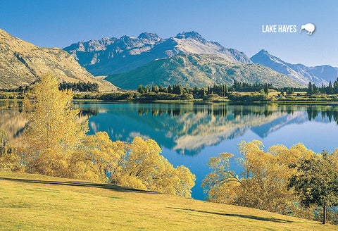 SQT820 - Lake Hayes - Small Postcard - Postcards NZ Ltd