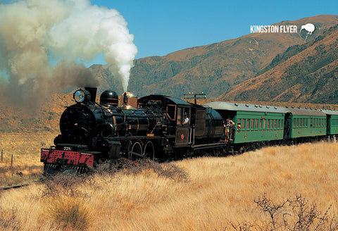 SCA266 - Tranz Alpine train  - Small Postcard