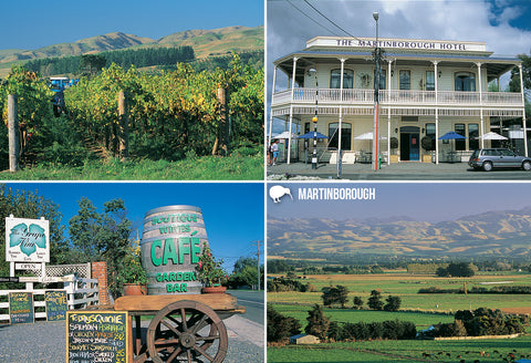 SWG1016 - Martinborough - Wairarapa - Small Postcard - Postcards NZ Ltd
