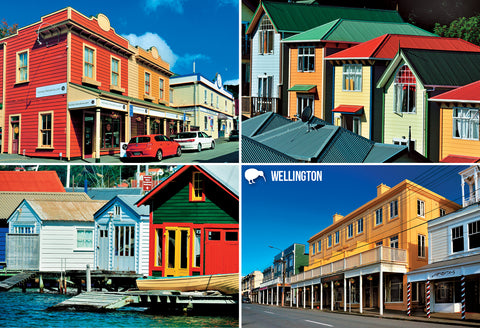 SWG1018 - Wellington Buildings of Character - Small Postcard