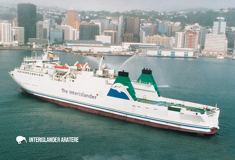 SWG29 - Aratere-Interislander - Small Postcard - Postcards NZ Ltd