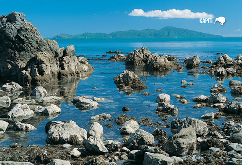 SWG987 - Kapiti Island - Small Postcard - Postcards NZ Ltd