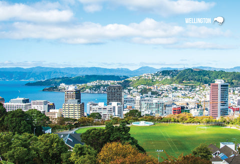 SWG989 - Wellington - Small Postcard - Postcards NZ Ltd