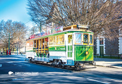 SCA1101 - Christchurch Tram - Small Postcard