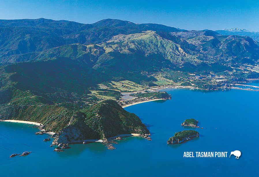 SNE729 - Abel Tasman Point - Small Postcard - Postcards NZ Ltd