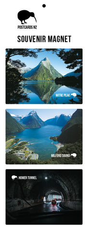 MMS5902 - Milford Sound Magnet Set 1 - Postcards NZ Ltd