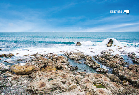 SCA634 - Kaikoura Coast - Small Postcard - Postcards NZ Ltd