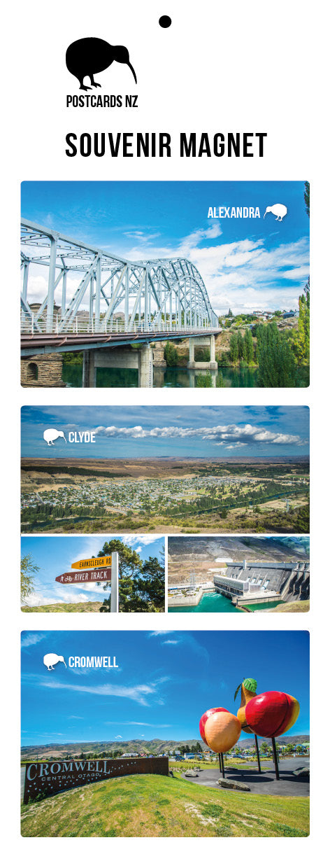 MCO5927 - Central Otago - Magnet Set - Postcards NZ Ltd