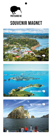 MBI5900 - Bay Of Islands - Magnet Set - Postcards NZ Ltd