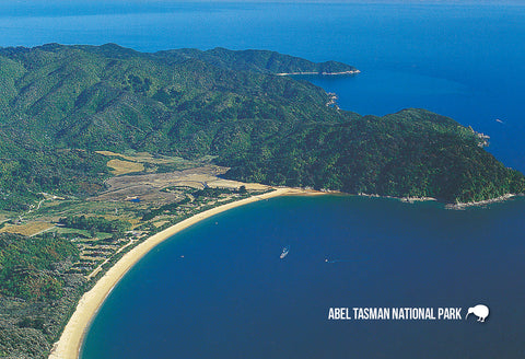 SNE732 - Abel Tasman National Park - Small Postcard - Postcards NZ Ltd