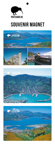 MCC5956 - Lyttelton - Magnet Set - Postcards NZ Ltd